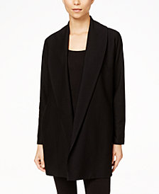 Eileen Fisher Tencel® Shawl-Collar Jacket