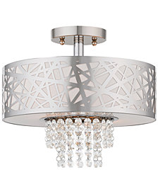 Livex Allendale 2-Light Semi Flush