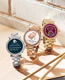 Michael Kors Access Women's Sofie Stainless Steel Bracelet Touchscreen Smart Watches