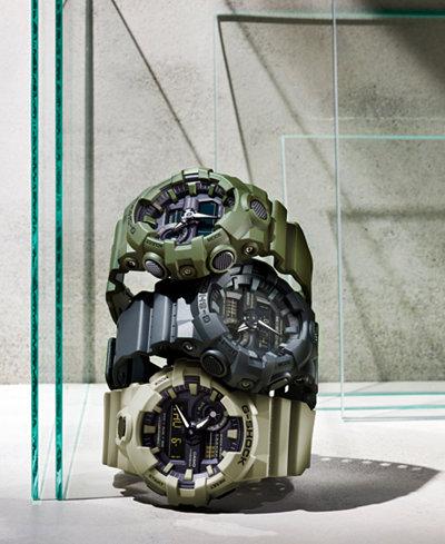 G-Shock Men's Analog-Digital Resin Strap Watches