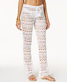 Miken Juniors'  Crochet Scalloped Pants, Created for Macy's