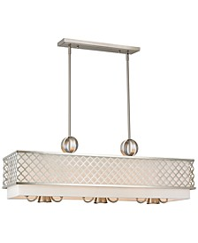 Arabesque 6-Light Linear Chandelier