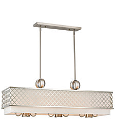 Livex Arabesque 6-Light Linear Chandelier