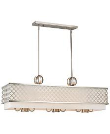 Livex Arabesque 6-Light Linear Chandelier