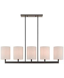 Hayworth 5-Light Linear Chandelier