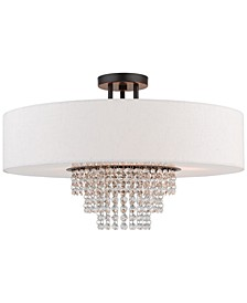 Carlisle 5-Light Semi-Flush Mount