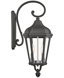 Livex Morgan 2-Light Outdoor Wall Lantern