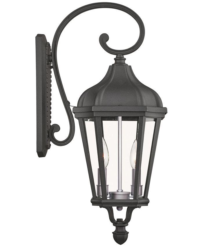 Livex - Morgan 2-Light Outdoor Wall Lantern