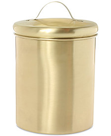 Thirstystone Small Brushed Gold Canister