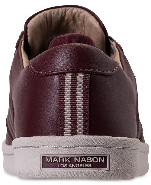 uk availability 09757 8495d ... Mark Nason Los Angeles Men s Crossroads Casual Sneakers from Finish ...