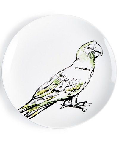 The Cellar Tropicalia Parrot Salad Plate, Created for Macy's