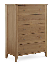 Martha Stewart Collection Brookline 5-Drawer Chest, Created for Macy's
