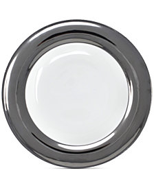 Darbie Angell Monaco Platinum Dinner Plate