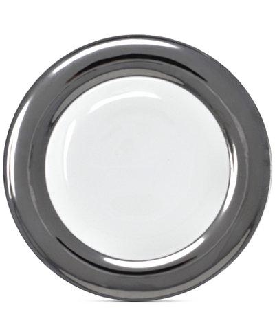 Darbie Angell Monaco Platinum Dinner Plate