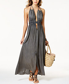 Raviya Halter Maxi Dress Cover-Up