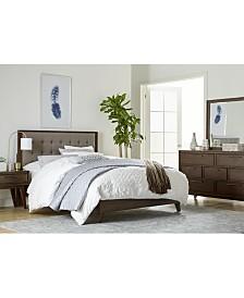 Jollene Upholstered Bedroom Furniture, 3-Pc. Set (Queen Bed, Dresser & Nightstand), Created for Macy's
