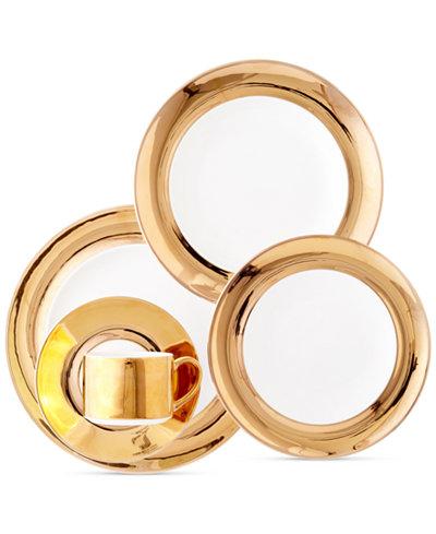 Darbie Angell Monaco Gold Dinnerware Collection