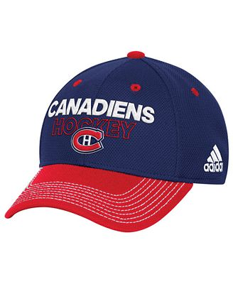 adidas Montreal Canadiens Locker Room Structured Flex Cap