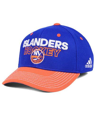 adidas New York Islanders Locker Room Structured Flex Cap
