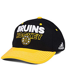 adidas Boston Bruins Locker Room Structured Flex Cap