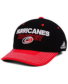 adidas Carolina Hurricanes Locker Room Structured Flex Cap