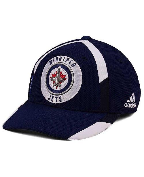 newest 69295 f28fe adidas Winnipeg Jets Practice Jersey Hook Cap - Sports Fan ...