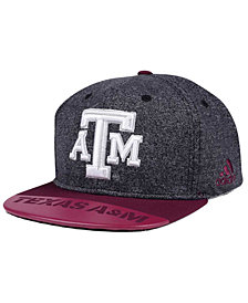 adidas Texas A&M Aggies Player Snapback Cap