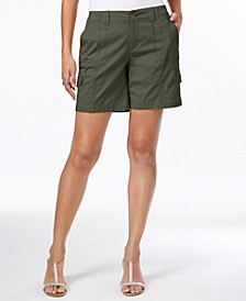 Comfort-Waist Cargo Shorts, Created for Macy's