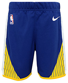 Nike Golden State Warriors Icon Replica Shorts, Toddler Boys