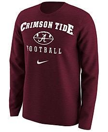 Nike Men's Alabama Crimson Tide Retro Long Sleeve T-Shirt