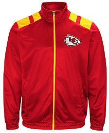 G-III Sports Men's Kansas City Chiefs Broad Jump Track Jacket