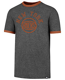 '47 Brand Men's New York Knicks Capital Ringer T-Shirt