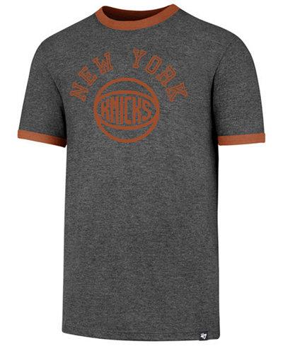 '47 Brand Men's New York Knicks Capital Ringer T-Shirt