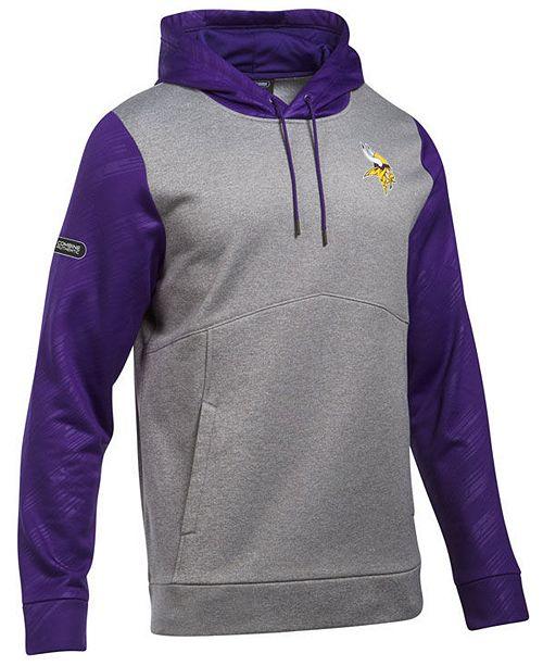 low priced 034ce ce42d Men's Minnesota Vikings Armour Fleece Hoodie