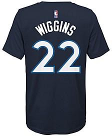Andrew Wiggins Minnesota Timberwolves Icon Name & Number T-Shirt, Big Boys (8-20)