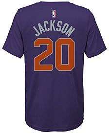 Josh Jackson Phoenix Suns Icon Name & Number T-Shirt, Big Boys (8-20)