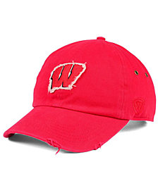 Top of the World Wisconsin Badgers Rugged Relaxed Cap