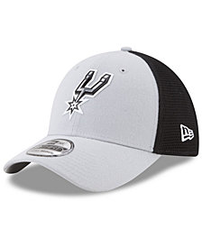 New Era San Antonio Spurs On Court 39THIRTY Cap