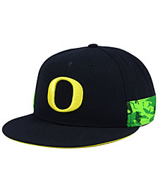 Nike Oregon Ducks True Woven Stripe Snapback Cap