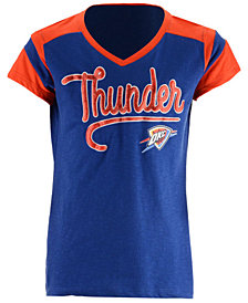 5th & Ocean Oklahoma City Thunder Contrast Slub T-Shirt, Girls (4-16)