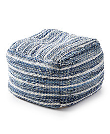 Lucky Brand Chindi Pouf Decorative Pillow