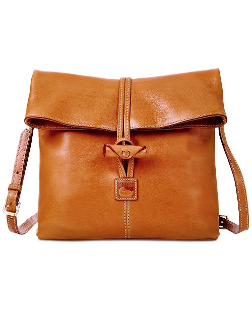 9693a3680269 Dooney   Bourke Florentine Leather Toggle Crossbody Bag  Dooney   Bourke  Florentine Leather Toggle Crossbody ...