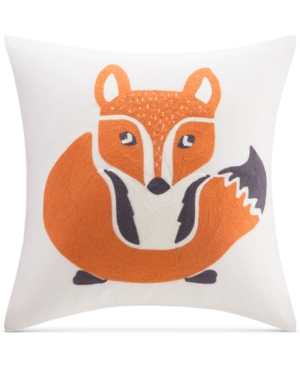 InkIvy Kids Oliver Embroidered 16 Square Decorative Pillow Bedding