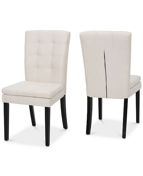 Noble House Cabreni Dining Chair (Set Of 2)