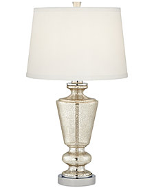 Pacific Coast Silver Mercury Glass Table Lamp