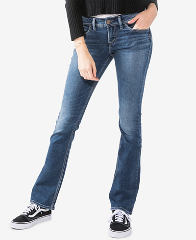 Silver Jeans Co. Elyse Curvy-Fit Slim Bootcut Jeans