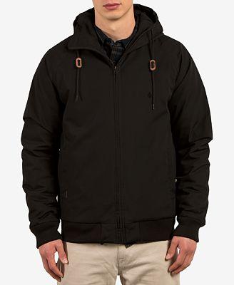 Volcom Men's Hernan Zip-Front Hooded Jacket