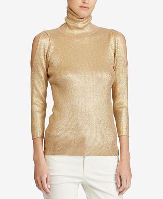 Gold Women's Sweaters - Macy's