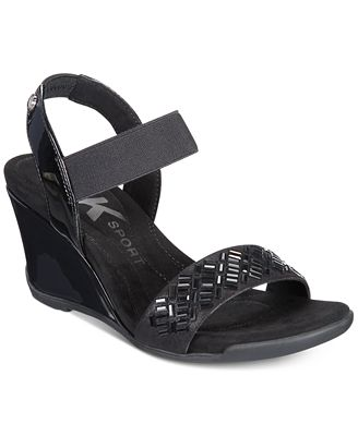 Anne Klein Sport Love Me Wedge Sandals