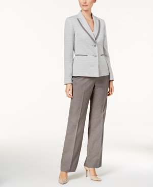 Le Suit Two-Button Tweed...